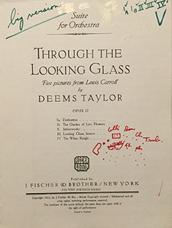 Throught The Looking Glass by Deems Taylor Suite for Orchestra